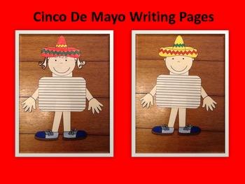 Cinco De Mayo Writing Page
