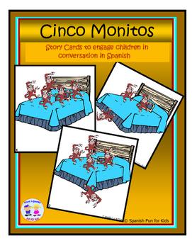 Cinco Monitos Story Cards