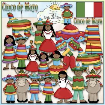 Cinco de Mayo Clip Art - Mexico Clip Art - Mexican - Hispa
