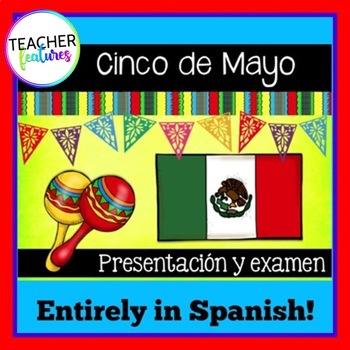 Cinco de Mayo Powerpoint in Spanish