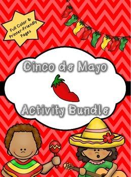 Cinco de Mayo Activity Bundle