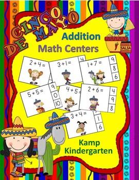 Cinco de Mayo Addition Math Centers