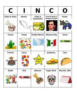 Cinco de Mayo BINGO!
