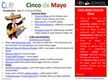Cinco de Mayo CLIP (Creative Learning in a Pinch)