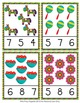 Cinco de Mayo Count and Clip Cards Numbers 1-12
