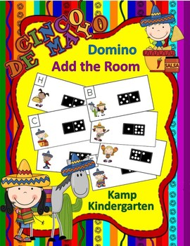 Cinco de Mayo Domino Add the Room (Sums of 0 to 10)