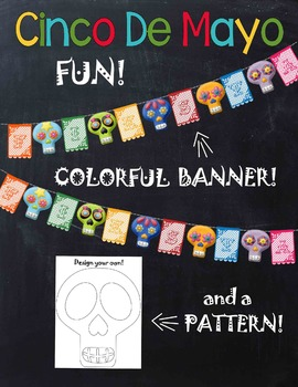 Cinco de Mayo Fiesta Banner & Pattern