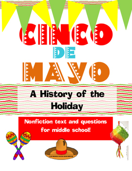 Cinco de Mayo -Free Informational Text and Questions