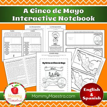 Cinco de Mayo Interactive Notebook or Lapbook