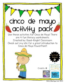 Cinco de Mayo Literacy Mini Pack