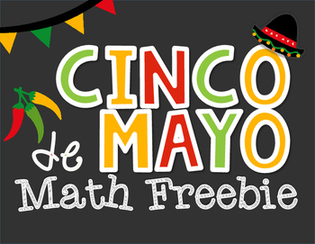 Cinco de Mayo: Math *Freebie*