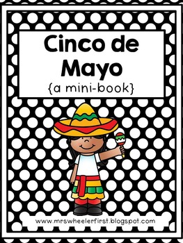 First Grade Mini-Book: Cinco de Mayo