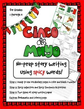 Cinco de Mayo No Prep Narrative Writing
