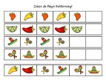 Cinco de Mayo Patterning