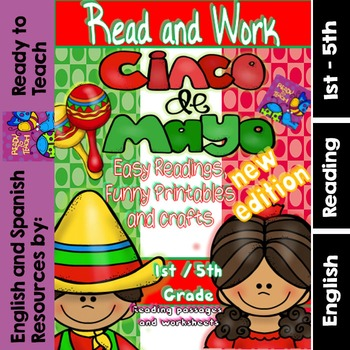 Cinco de Mayo - Read and Work with Craft - New Edition  (1st-5th)
