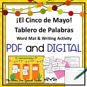 Cinco de Mayo Spanish Sentence Structure, Hands On