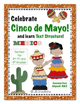 Cinco de Mayo Text Structure Group Scoot Game (3rd, 4th, 5