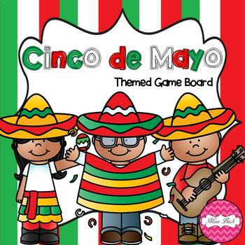 Cinco de Mayo Themed Game Board