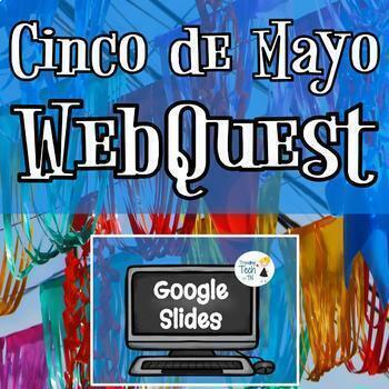 Cinco de Mayo Webquest - NO PREP - Fully Editable/Interactive!!