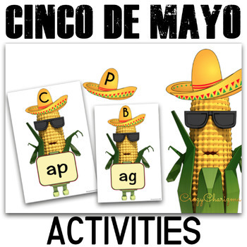 Cinco de Mayo Word Families {Around the World with Cornman}