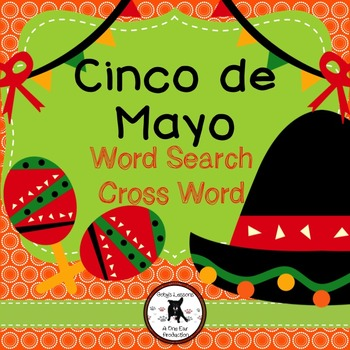Cinco de Mayo Word Search and Crossword
