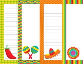 Cinco de Mayo Writing Paper - 3 Styles - ( 7 1/2 x 10 )