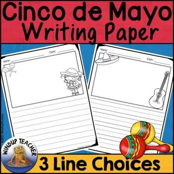 Cinco de Mayo Writing Paper Pack