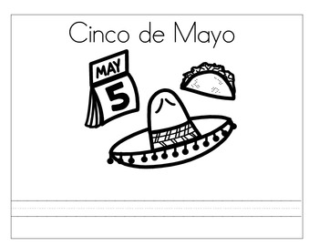 Cinco de Mayo coloring book