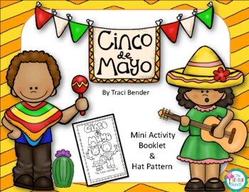 Cinco de Mayo {mini activity booklet & hat pattern}