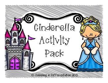 Fairy Tales: Cinderella Activity Pack