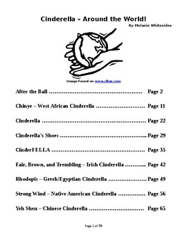 Cinderella Around The World - Small Group Reader's Theater