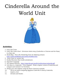 Cinderella Around the World