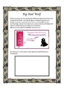 Cinderella Business Card - Free