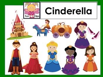Cinderella clip art