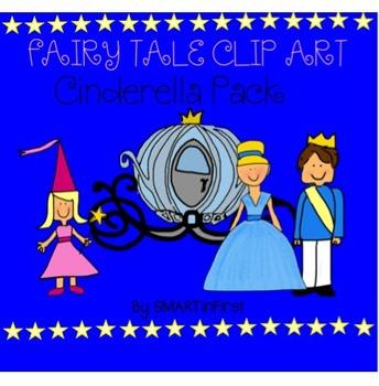 Cinderella Clipart Pack