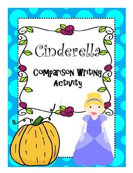 Cinderella Comparison Writing Activity