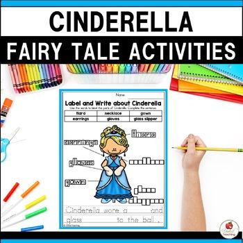 Cinderella No Prep Fairy Tale Activities
