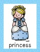 Cinderella Posters (10 total) & Corresponding Writing Activity
