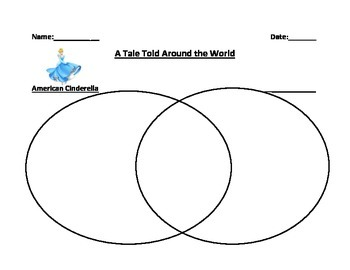 Cinderella Venn Diagram Packet