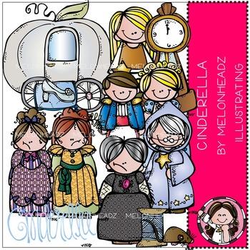Melonheadz: Cinderella clip art - COMBO PACK