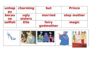 Cinderella visual storyboard