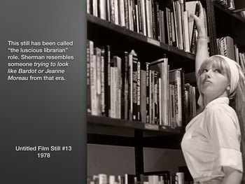 Cindy Sherman Photography Art History ~ 192 Slides ~ Highl