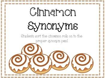 Cinnamon Synonyms