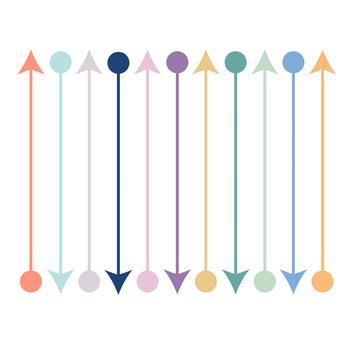 Circle Arrows Set { Digital Clip Art }