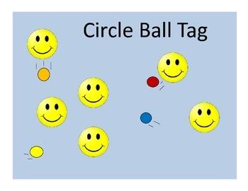 Circle Ball Tag