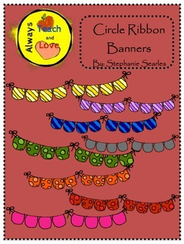 Circle Banners Clipart Bundle