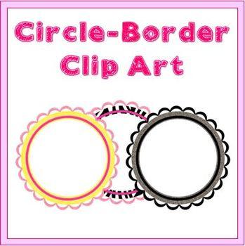 Circle Borders - Clipart
