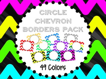 Circle Chevron Border Pack
