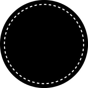 Circle Frame- Black