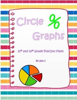 Circle Graphs Lesson Plan Bundle